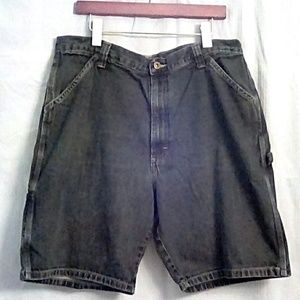 Wrangler ORIGINALS Denim Carpenter Jeans Shorts 36